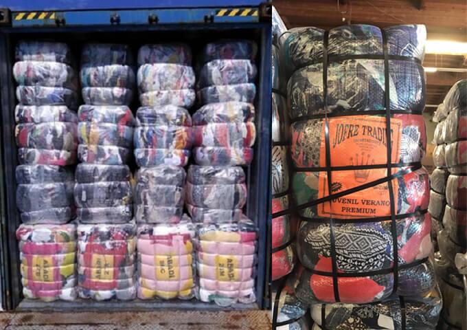 Hàng thùng nguyên tép 50kg