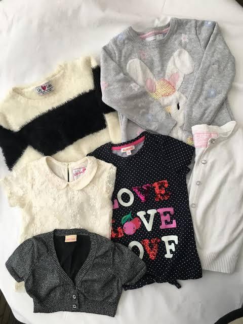 áo, quần, váy, đầm cho bé gái
