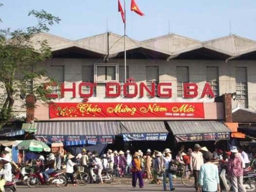 Chợ Đông Ba - Chợ đồ cũ ở Huế