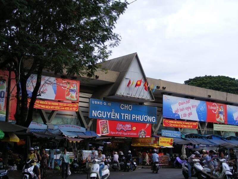 Chợ đồ si Nguyễn Tri Phương - Nguồn hình: diadiemanuong