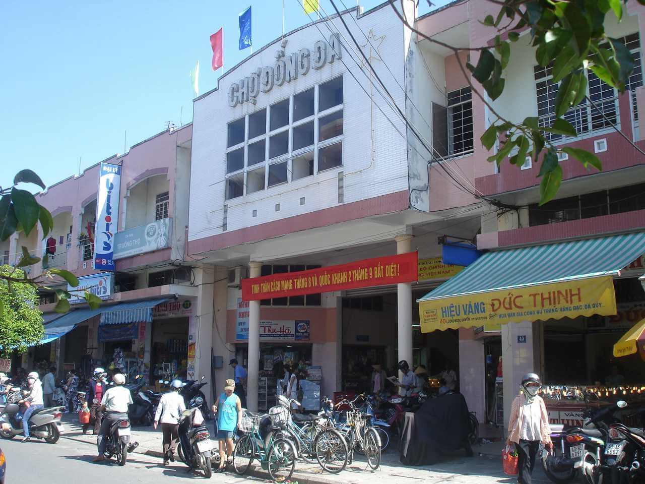 Chợ Đống Đa- chợ đồ cũ đà nẵng