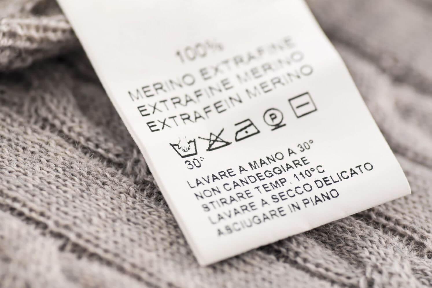 Tham khảo tag giặt ủi