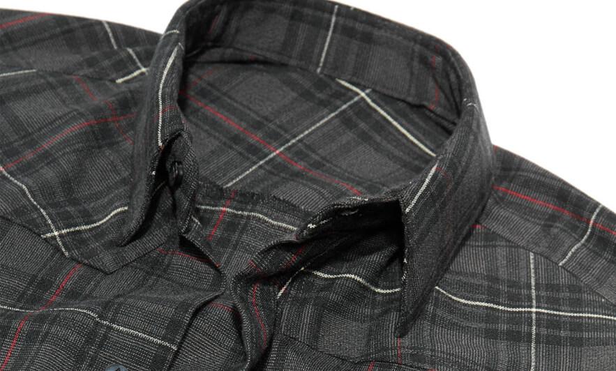 ao so mi vai flannel