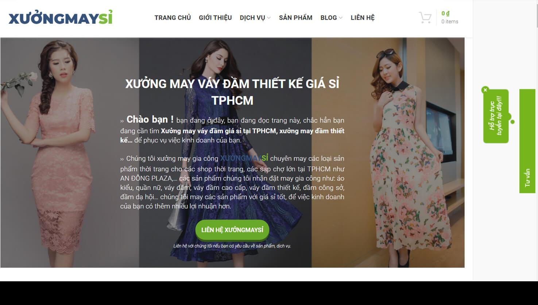 hinh anh tu website xuong may si