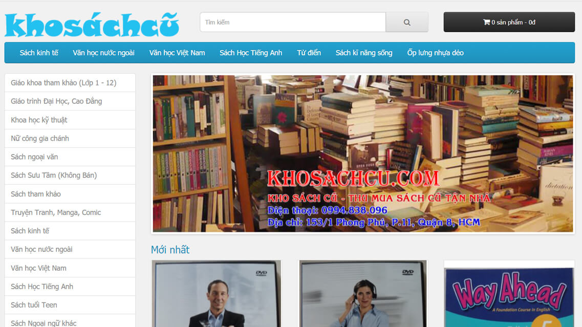 website khosachcu