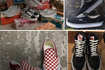 tong kho si giay vans secondhand hang thung