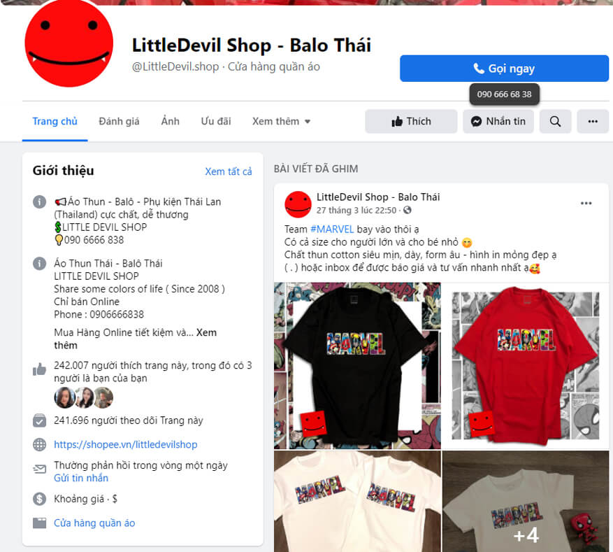 little devil shop la shop chuyen ao thun unisex thai