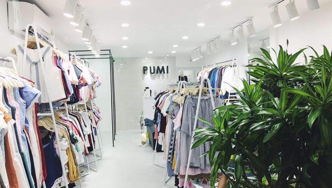 pumi la shop chuyen thoi trang cho nu co ao so i flannel vo cung xinh duoc ua chuong