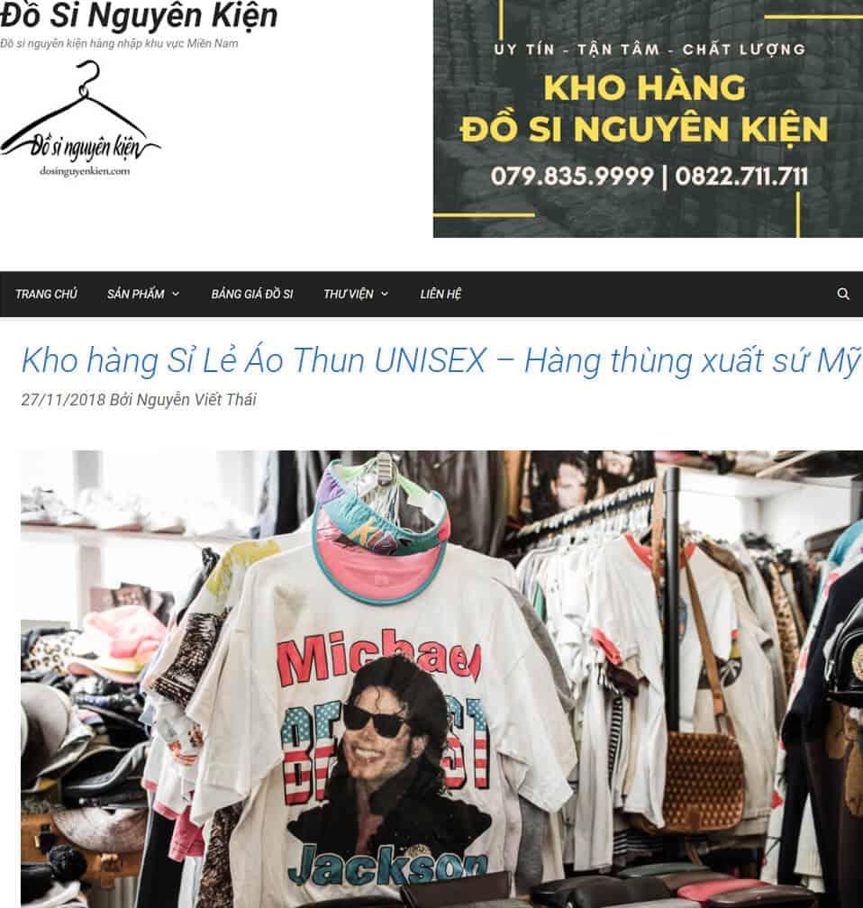 dosinguyenkien co kho xuong ao thun unisex cuc ki chat luong, nhap tu my