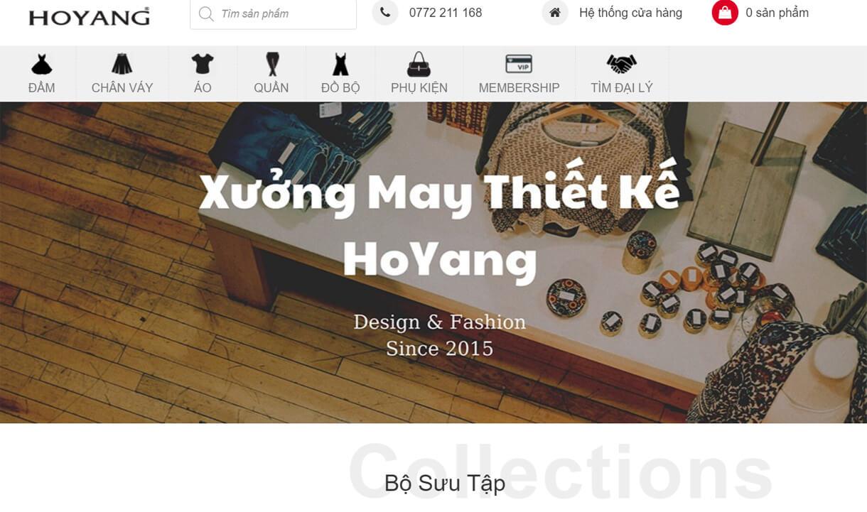 hoyang.vn la xuong chuyen may va thiet ke hang vnxk di nuoc ngoai