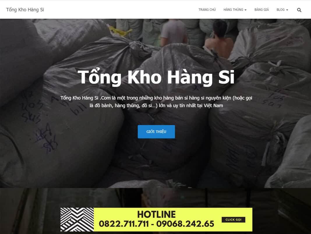 tongkhohangsi.com la kho si ao thun unisex hang thung cao cap